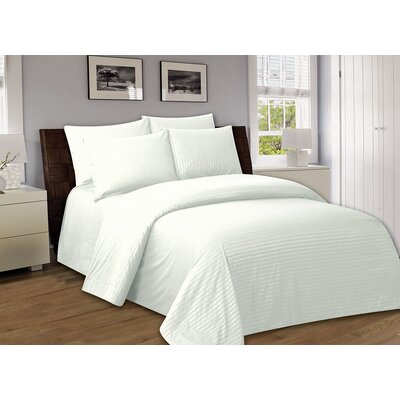 Bellefontaine 1000 Series Solid Bed Sheets Size: Twin, Color: White