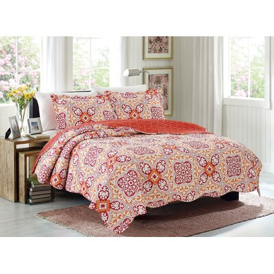 Emma 3 Piece Quilt Set Size: King