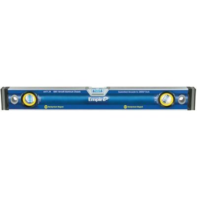 "Empire True Blue Magnetic Box Levels - 48"" true blue magnetic box level w/neodymium mag at Sears.com"