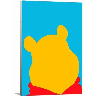 Disney Inspired Winnie The Pooh Canvas Art Size: 24