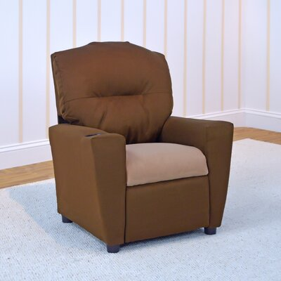 Kids Recliner with Cup Holder 2012BI-LT-2