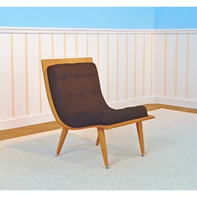 Rave Lounge Chair Color: Bison, Color: Natural