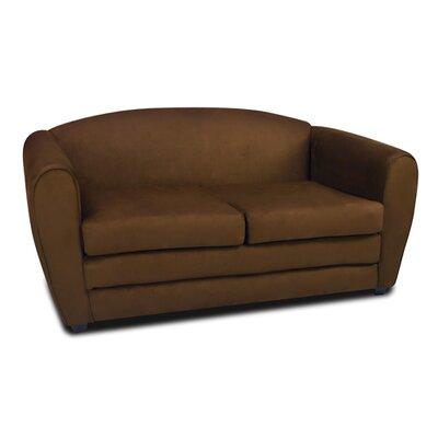 Tween Sleeper Loveseat Upholstery: Bison