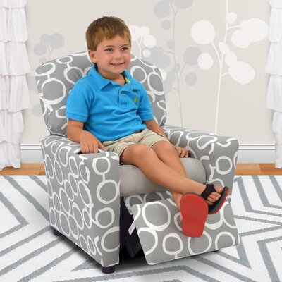 Kids Recliner with Cup Holder 2012FSTPEB