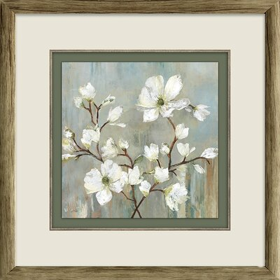 'Sweetbay Magnolia II' Framed Painting Print