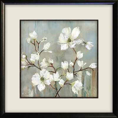 'Sweetbay Magnolia II' Square Framed Painting Print Size: 17.875