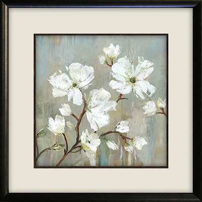 'Sweetbay Magnolia I' Painting Print Format: Brown Framed with Double White Mat, Size: 19