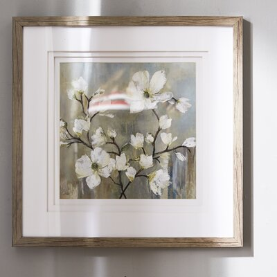 'Sweetbay Magnolia II' Vertical Framed Painting Print
