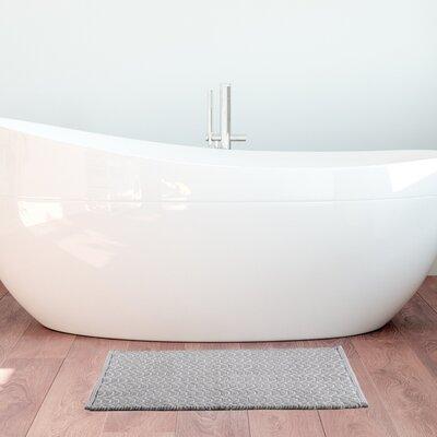 Matteson Verbiers Geo Hand-Woven Bath Rug