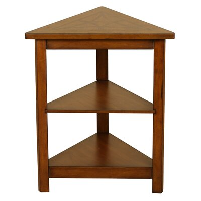 Heartwood Triangle End Table