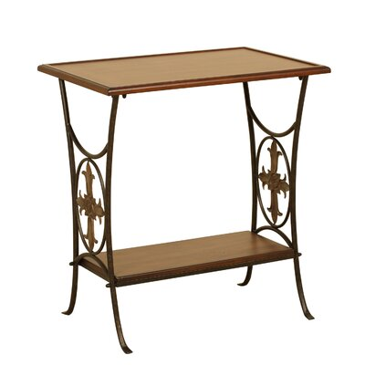 Boerner End Table with Removable Tray