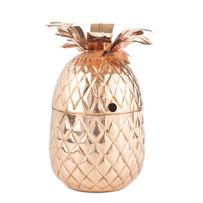 Rushin 20 oz. Solid Copper Pineapple Cup MCRF5151 44381507