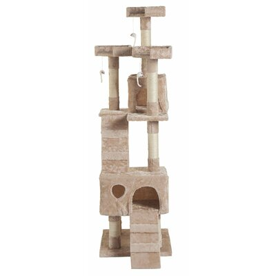 22 eSecure Platform Cat Tree Color: Beige