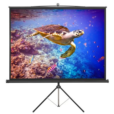 84 Portable Tripod Projection Screen