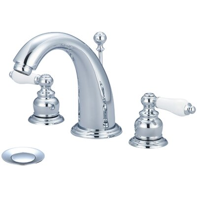 Brentwood Double Handle Widespread Bathroom Faucet Finish: Polished Chrome