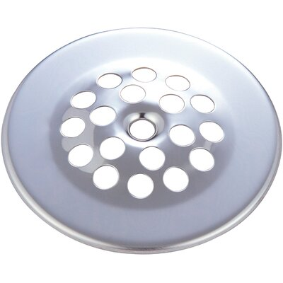 Bath Grid Strainer Finish: Brushed Nickel