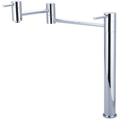 Motegi Deck Mounted Pot Filler Finish: Polished Chrome