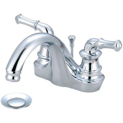 Del Mar Double Handle Centerset Standard Bathroom Faucet Finish: Polished Chrome