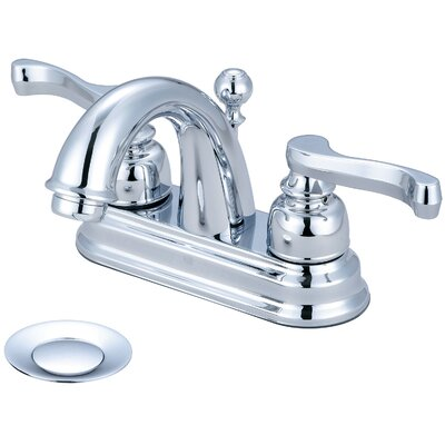 Brentwood Double Handle Centerset Bathroom Faucet Finish: Polished Chrome