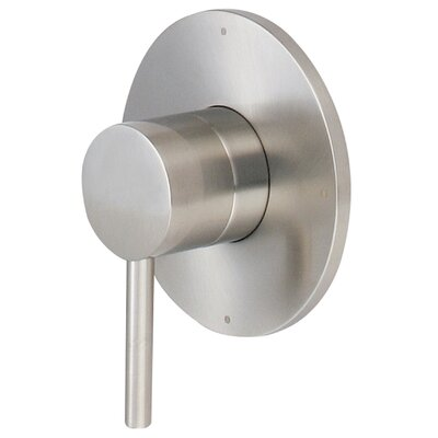 Motegi Single Handle Diverter Trim with Lever Handle Finish: Brushed Nickel