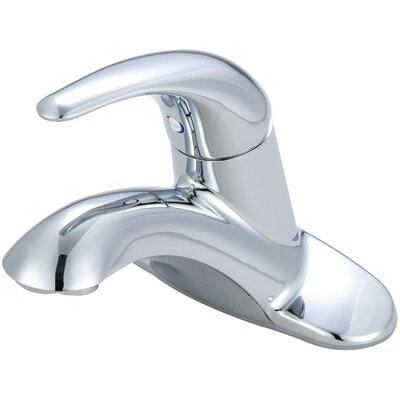 Legacy Single Handle Centerset Bathroom Faucet Finish: Polished Chrome