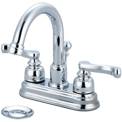 Brentwood Centerset Double Handle Bathroom Faucet Finish: Polished Chrome