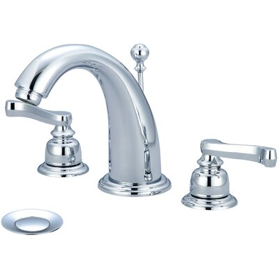 Brentwood Double Handle Deck Mounted Bathroom Faucet Finish: Polished Chrome