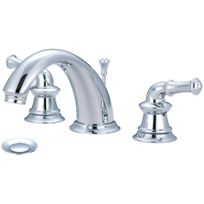 Del Mar Double Handle Widespread Bathroom Faucet Finish: Polished Chrome