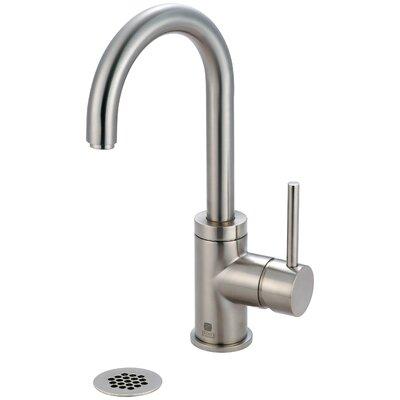 Motegi Single Handle Deck Mounted Bathroom Faucet Finish: Brushed Nickel