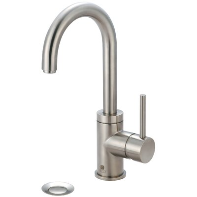 Motegi Single Handle Deck Mounted Bathroom Faucet Finish: Matte Black