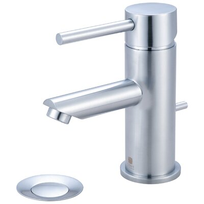 Motegi Single Handle Deck Mounted Bathroom Faucet Finish: Stainless Steel