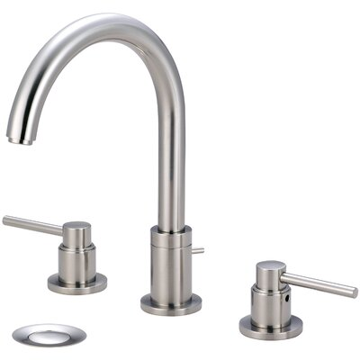 Motegi Double Handle Widespread Standard Bathroom Faucet Finish: Brushed Nickel
