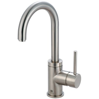 Motegi Single Handle Deck Mounted Bathroom Faucet Finish: Brushed Nickel