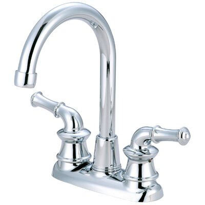 Double Handle Kitchen Faucet Finish: Polished Chrome