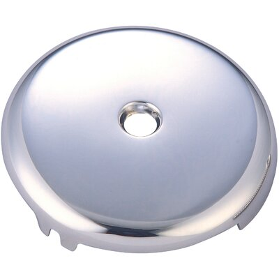 Bath Overflow 1 Hole Face Plate Finish: Polished Chrome
