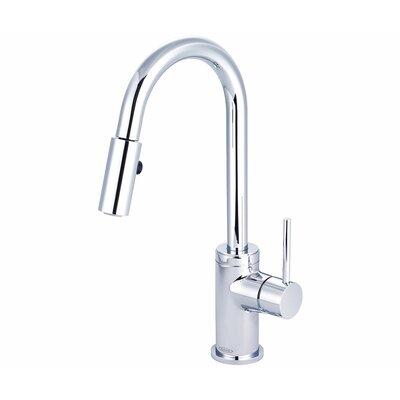 Motegi Single Handle Deck Mounted Kitchen Faucet Finish: Polished Chrome