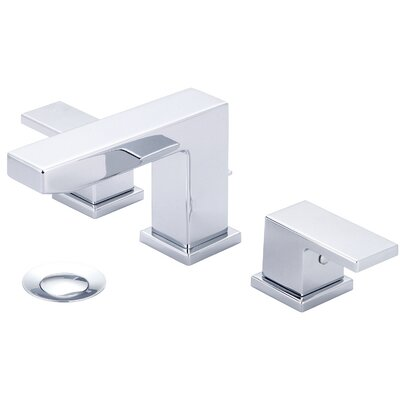 Mod Double Handle Widespread Bathroom Faucet Finish: Polished Chrome