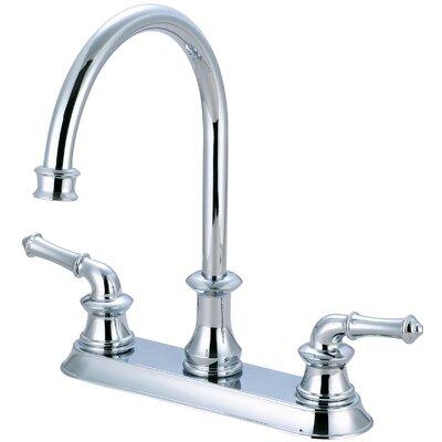 Double Handle Kitchen Faucet Finish: Polished Chrome