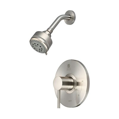 Motegi Single Lever Handle Shower Trim Set Finish: Brushed Nickel