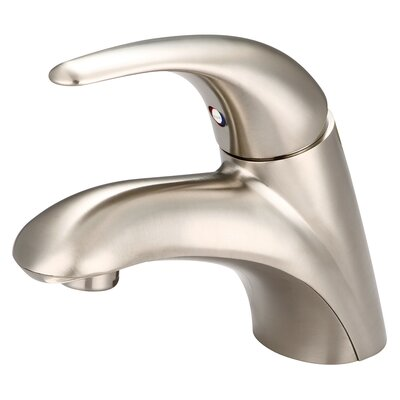 Legacy Single Handle Centerset standard Bathroom Faucet Finish: Brushed Nickel