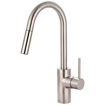 Motegi Single Handle Kitchen Faucet Finish: Brushed Nickel