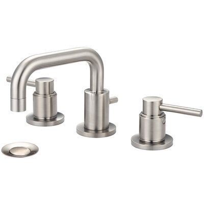 Motegi Widespread Double Handle Bathroom Faucet with Drain Assembly