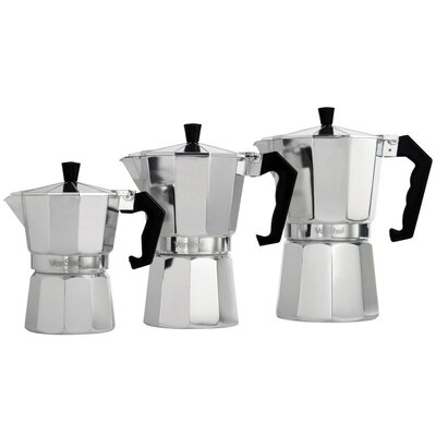 Stovetop Espresso Maker Size: 3 Cup 07/173