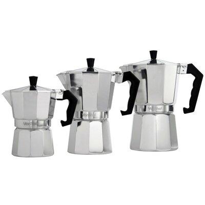 Stovetop Espresso Maker Size: 3 Cup 07/173