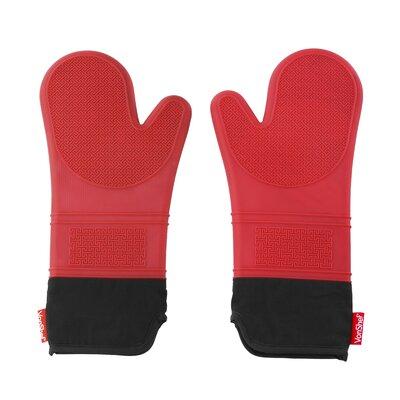 Seamless Silicone Non-Slip Oven Gloves 07/577