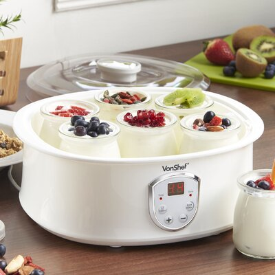 Automatic Digital 1.3 Qt. Yogurt Maker with LCD Display Screen 13/201US