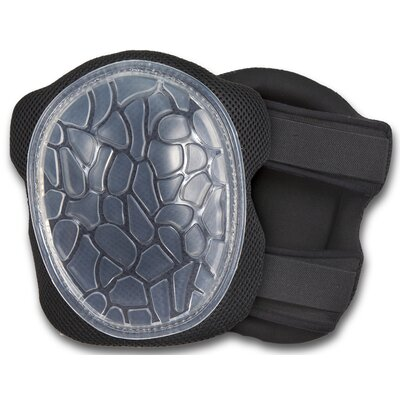 ERGODYNE ProFlex Low-Profile Cap Honeycomb Gel Knee Pad in Black at Sears.com