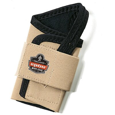 ERGODYNE ProFlex 4000 Single Strap Wrist Support for Right Hand - Size: Large, Color: Tan at Sears.com