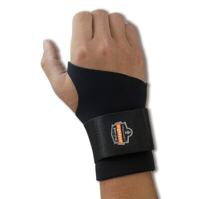 ERGODYNE ProFlex 670 Ambidextrous Single Strap Wrist Support - Size: Small at Sears.com
