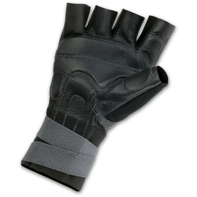 ERGODYNE ProFlex 910 Impact Gloves with Wrist Support in Black - Size: Small at Sears.com